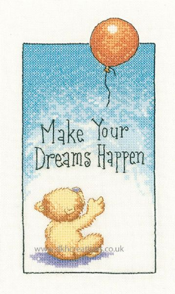 Make Your Dreams Come True Cross Stitch Kit
